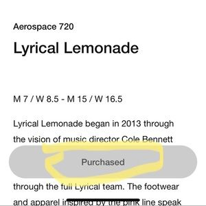 Aerospace 720 Lyrical Lemonade